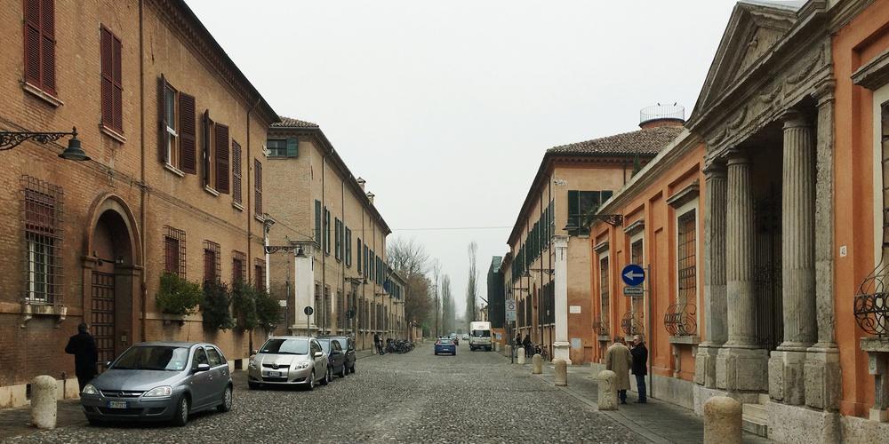 Ferrara, Corso Ercole d'Este